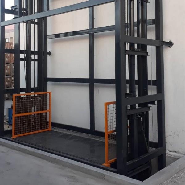 Kolonlu Yük Platformu